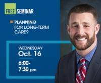 Free seminar planning for long term care? wed oct 166 to 730. rsvp is required but free. learn more.