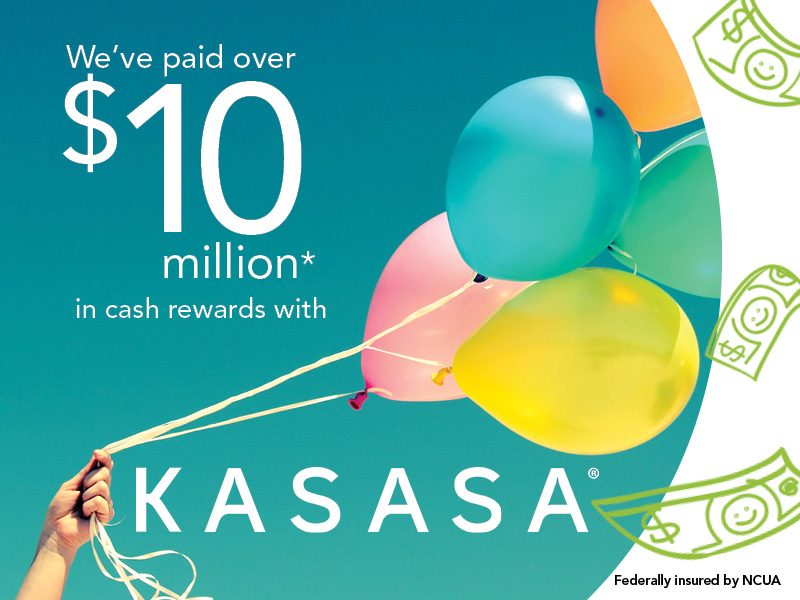 Kasasa 10 million dollar in rewards