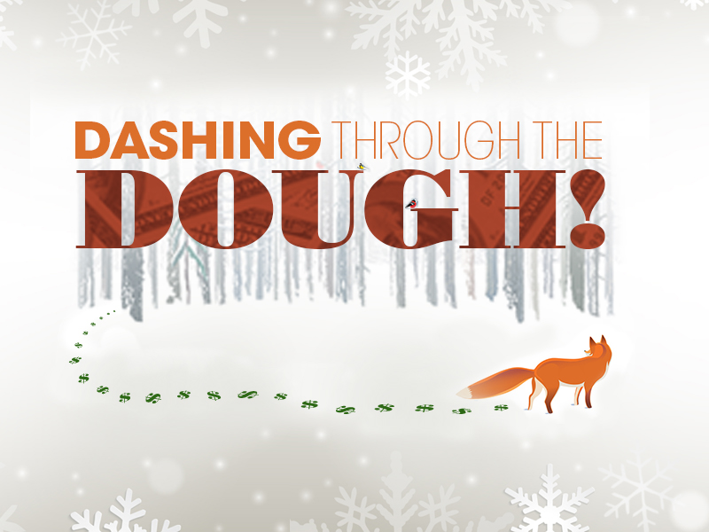 Dashing through the dough 11-17