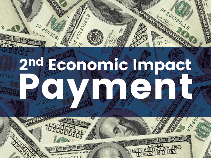 2nd economic impact payment